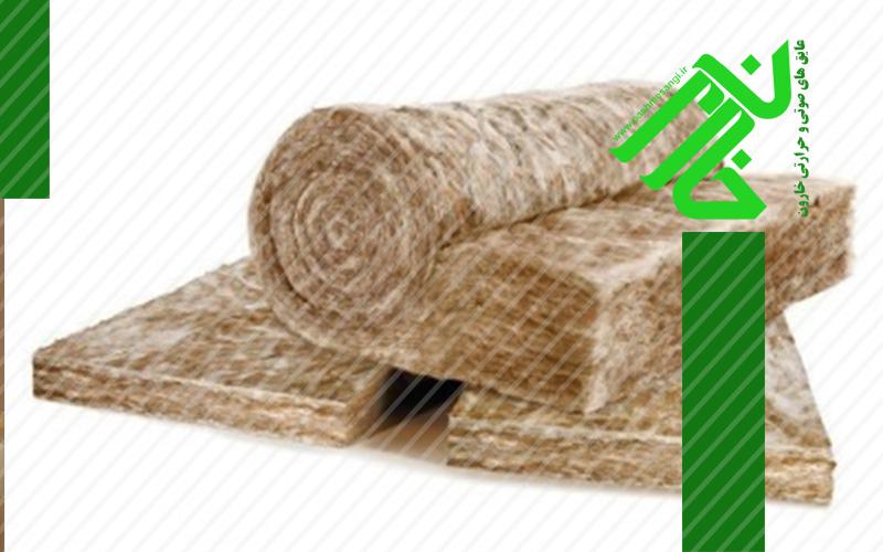 تولید انواع پشم سنگ پتویی